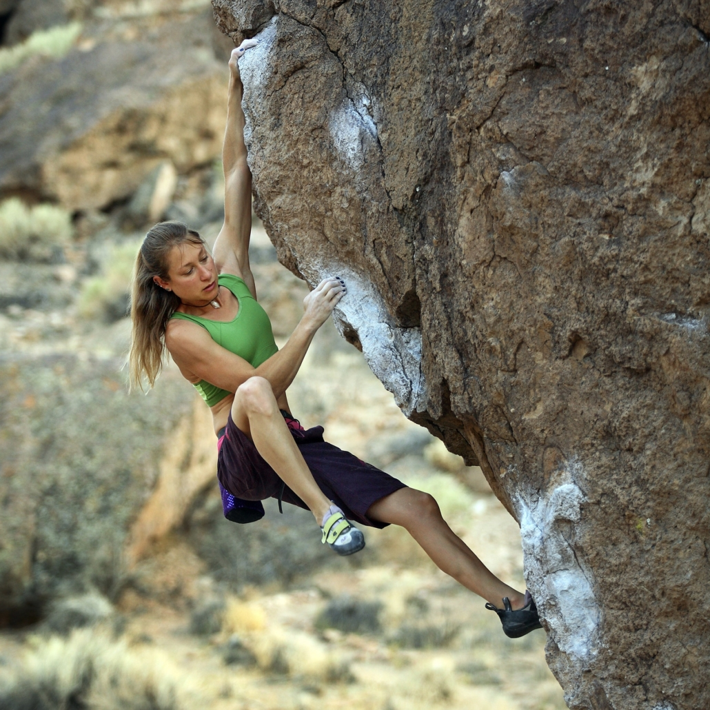 Lisa Rands is one of the most experienced climbing coaches in the country